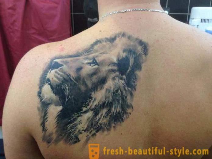 Znaczenie Tatuirovki Lion Na Ramieniu I Innych Części Ciała