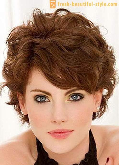 Kręcone Włosy Stylizacja Fryzury Fryzury Krótkie Fryzury