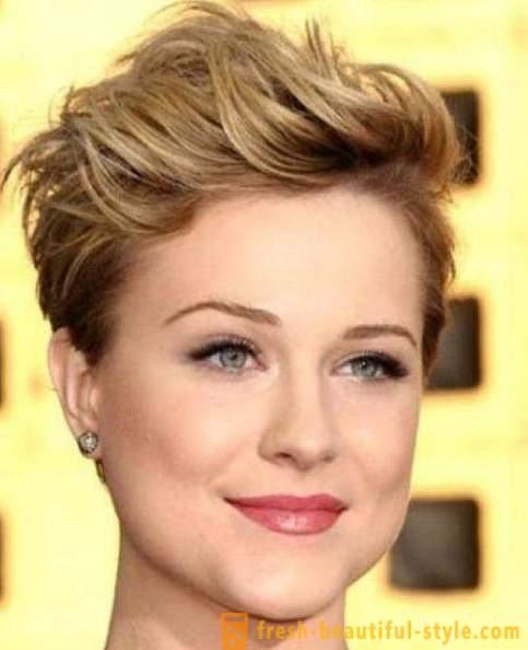 Fryzury Na Krótkie Włosy Dla Okrągłej Twarzy Foto